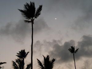 Луна на экваторе